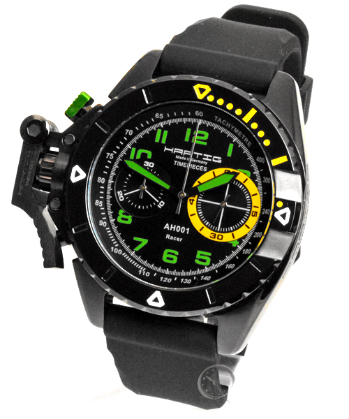 Hartig Racer Green handwinding chronograph