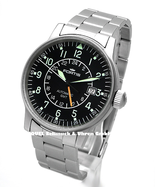 Fortis pilot automatic GMT
