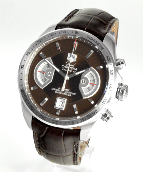 TAG Heuer Grand Carrera Chronograph Calibre 17 RS -  Complete revivion at Tag Heuer 11th 2020