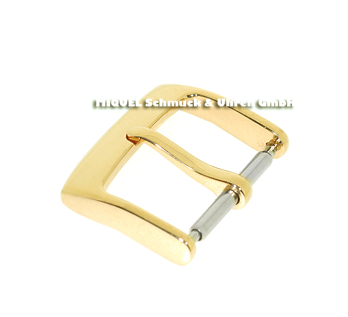 thorn clasp 18ct yellow gold very massive in 18 mm