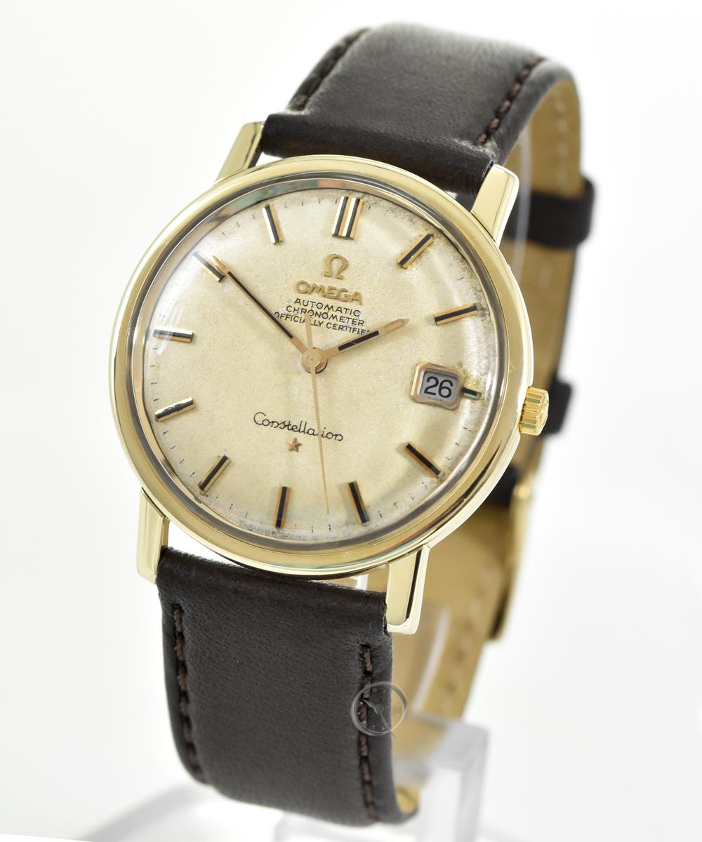 Omega Constellation automatic Chronometer wtih gold cap