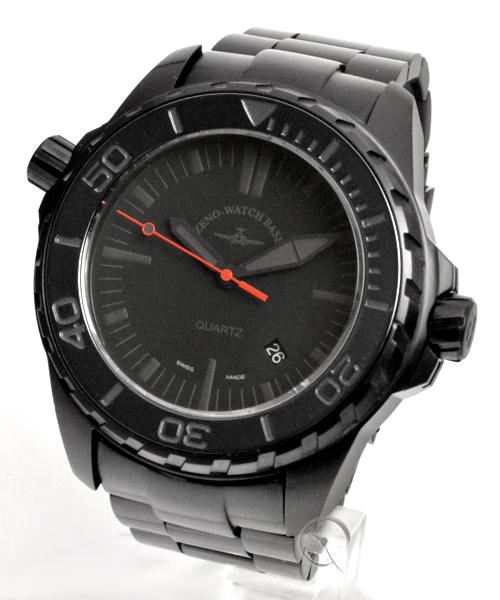 Zeno-Watch Basel Professional Diver Pro Diver 2 black