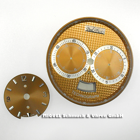 Paul Picot dial with hands set for Technograph Ref.0334 SG