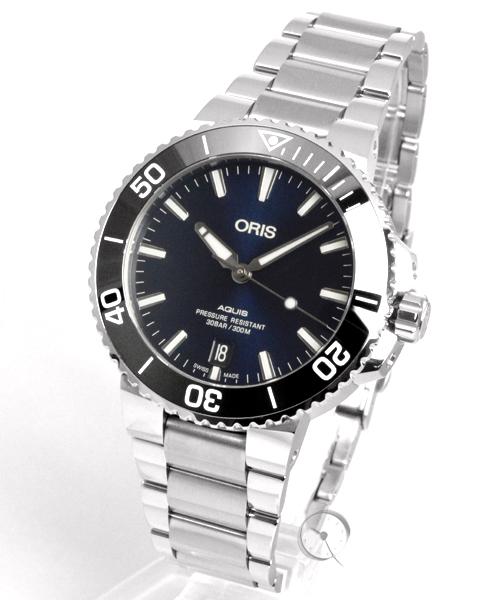 Oris Aquis Date 39,5 mm - 27,2% saved!*