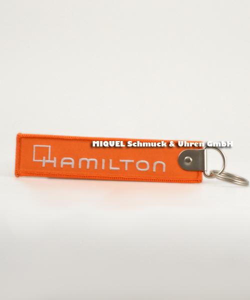 Hamilton luggage tag (key Chain)orange original packing