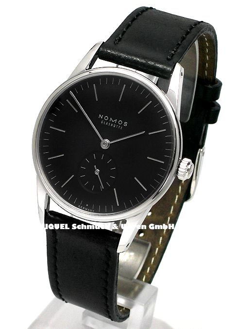 Nomos Orion anthracite with glass bottom  19,4% saved*