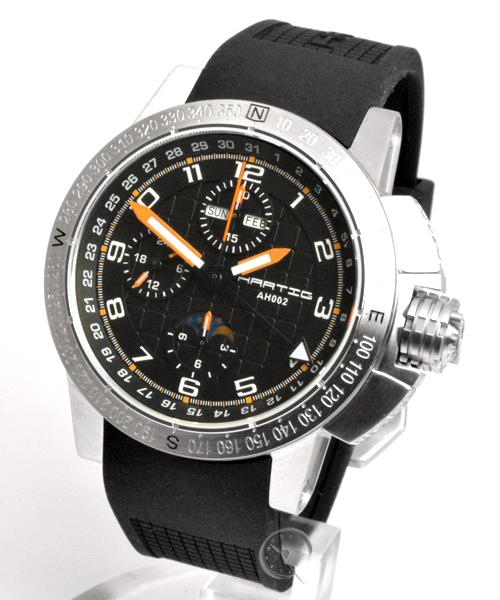 Hartig Racer Orange automatic chronograph
