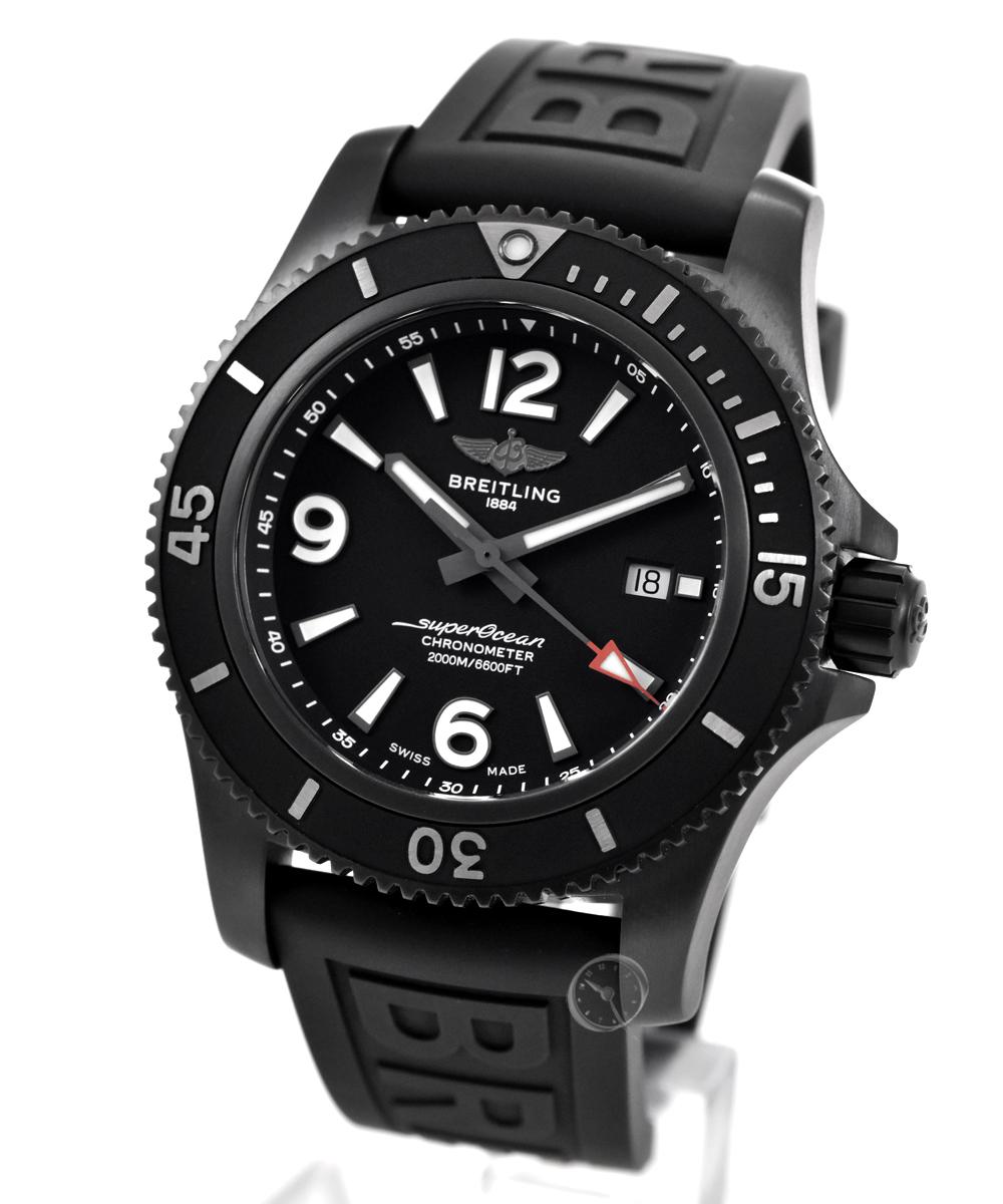 Breitling Superocean 46 Black Steel - 25,5% saved*