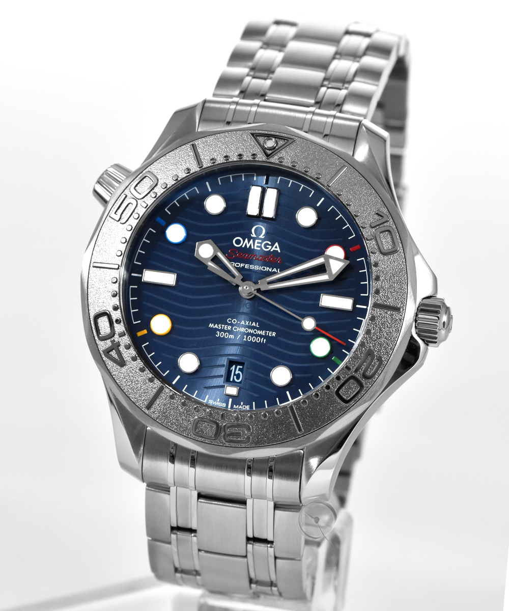 Omega Seamaster Professional Diver 300M Special Edition Beijing 2022