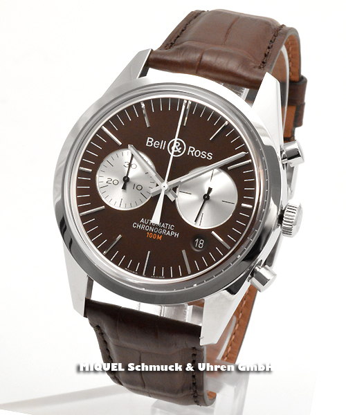 Bell and Ross Vintage Chronograph BR126 Limited Edition - 35,5% saved ! *