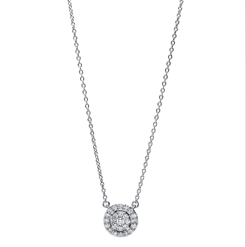 Necklace 18 ct white gold