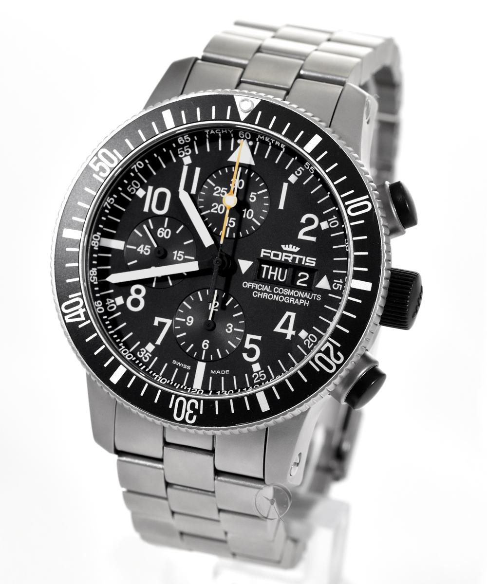 Fortis B-42 Official Cosmonauts Chronograph titanium