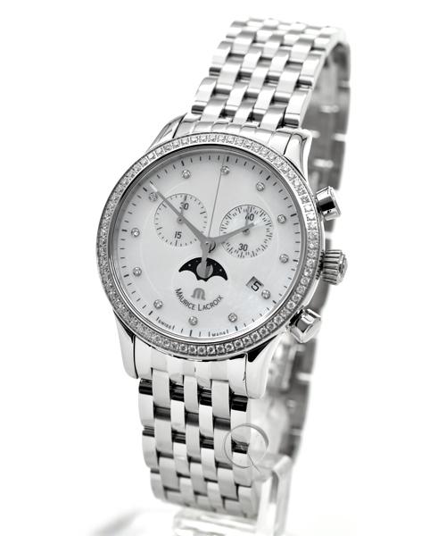 Maurice Lacroix Les Classiques Phase de Lune Chronographe Lady - 35,1% saved!*
