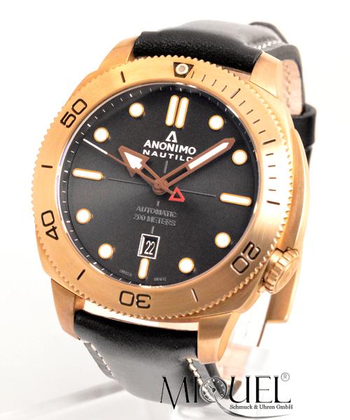 Anonimo Nautilo Bronze - 32,2% saved ! *