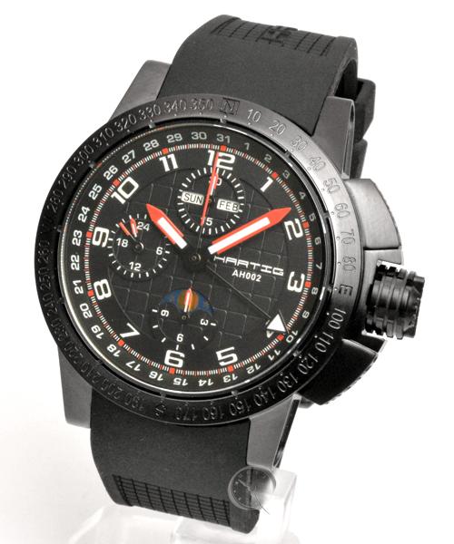 Hartig Racer Red automatic chronograph