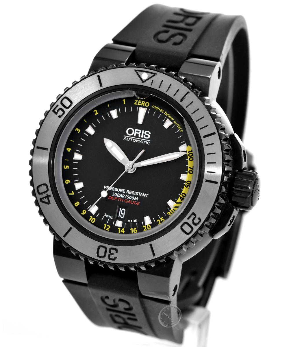 Oris Aquis Depth Gauge - 36.5% saved!*