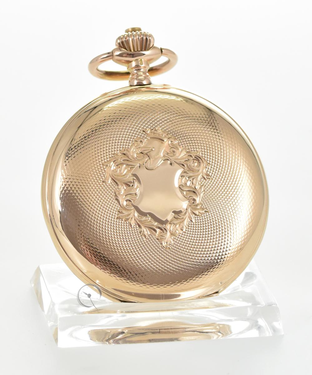 IWC 14ct gold Savonnette pocketwatch
