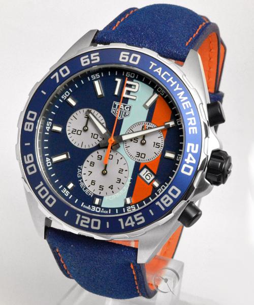 TAG Heuer Formula 1 Quarz 43mm Chronograph - Special Edition GULF - 19,4% saved*
