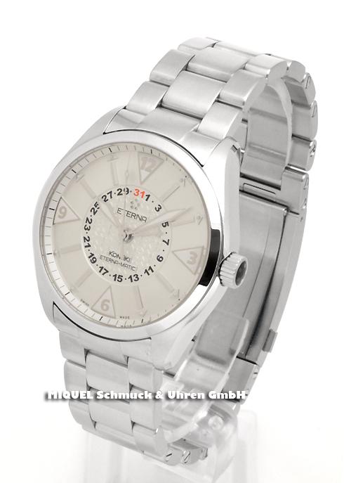 Eterna KonTiki automatic 4 hands-watch