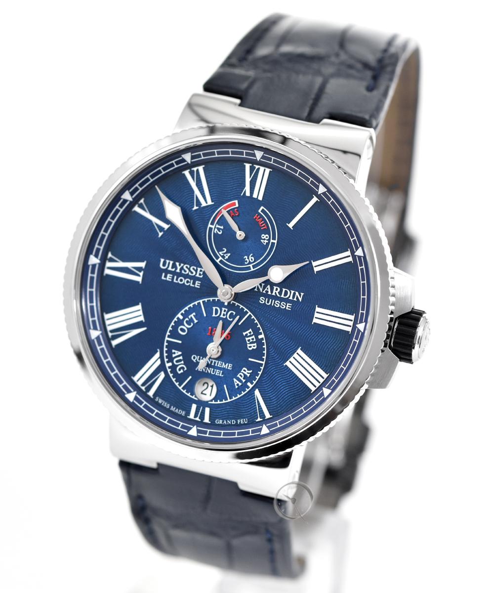 Ulysse Nardin Marine Chronometer Annual Calendar - 36,4% saved!*