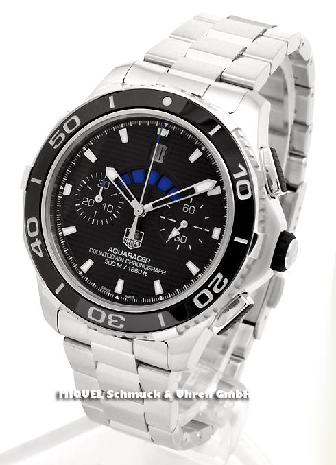 TAG Heuer Aquaracer 500m Calibre 72 Countdown automatic Chronograph -25,7% saved*