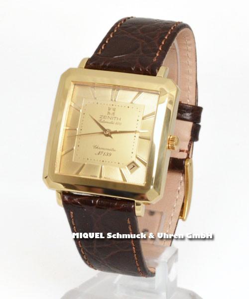Zenith 1975 Vintage limitiert - 750er Gelbgold massiv