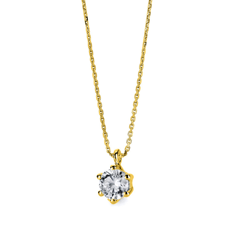 Necklace 14 kt yellow gold