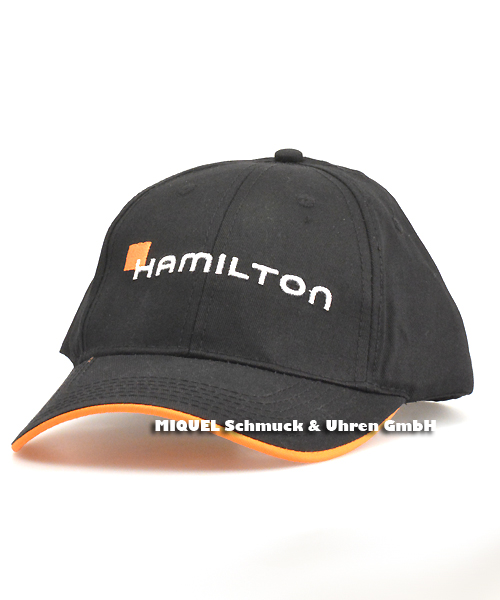 Hamilton Basecap schwarz