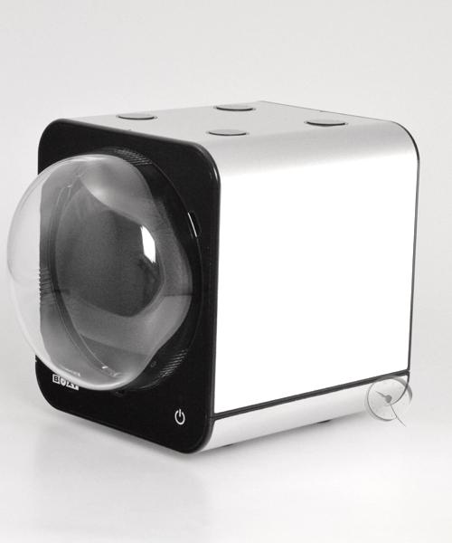 Watch Winder Boxy Fancy Brick - Platinum -  AC adapter!