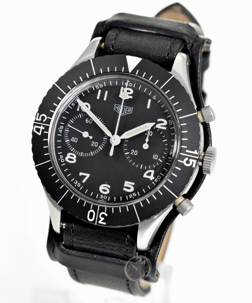 Heuer Flybackchronograph - German Army - Pilot Ref. 1550 SG