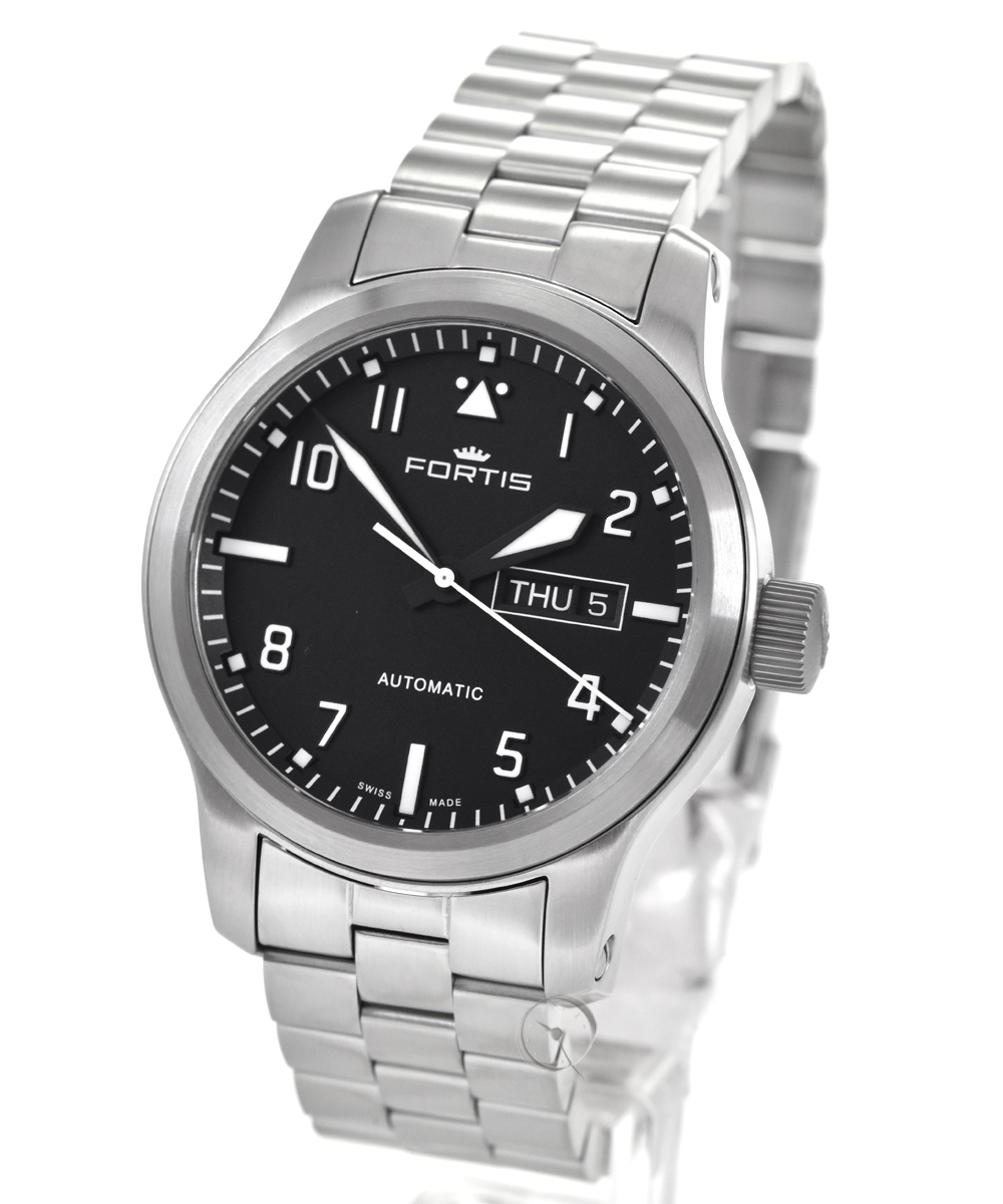 Fortis Aeromaster Steel Day Date - 23,2% saved!*