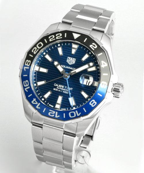 TAG Heuer Aquaracer  GMT calibre 7 - 20,7% saved!*