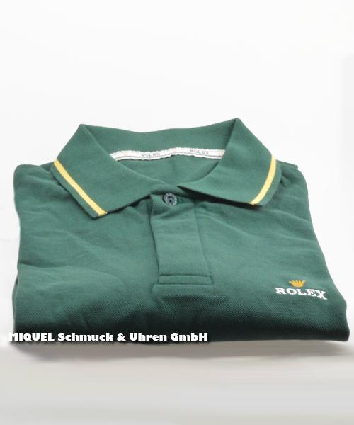 Rolex Poloshirt für Herren  grün