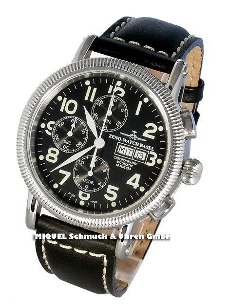 Zeno-Watch Basel Chronograph Day Date