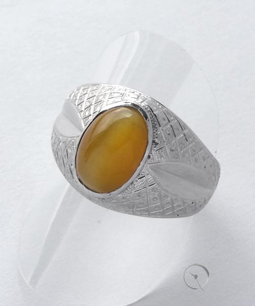 14ct whitegold unikat ring