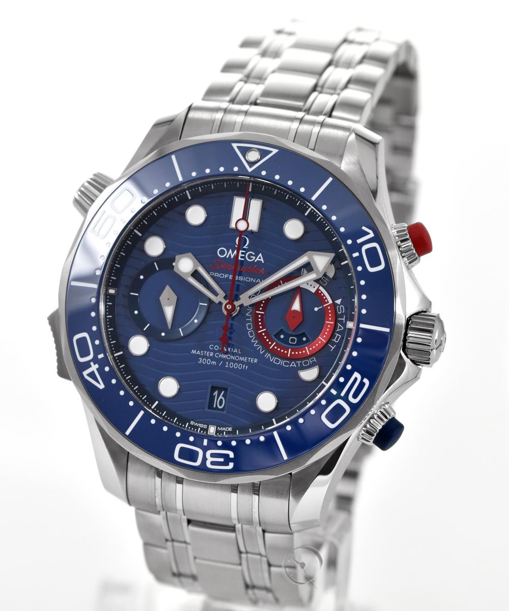 Omega Seamaster Diver 300M Chronometer Chronograph America's Cup