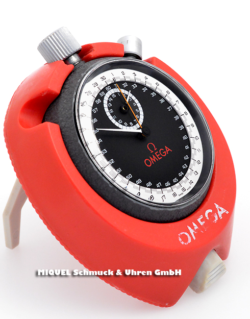 Omega stopwatch with additional bracket