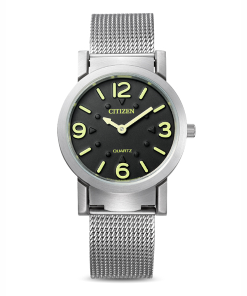 Citizen Quartz watch for the blind or visually impaired