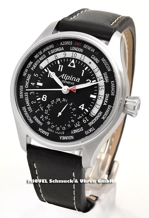 Alpina Startimer Pilot Worldtimer Manufacture -limited