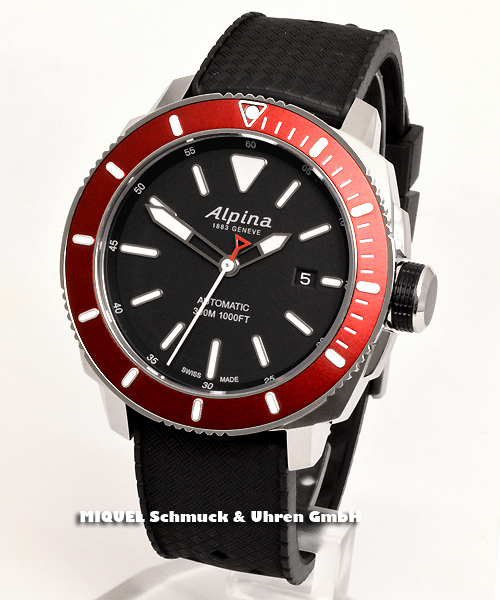 Alpina Seastrong Diver 300 Automatic - 33,1% saved ! *