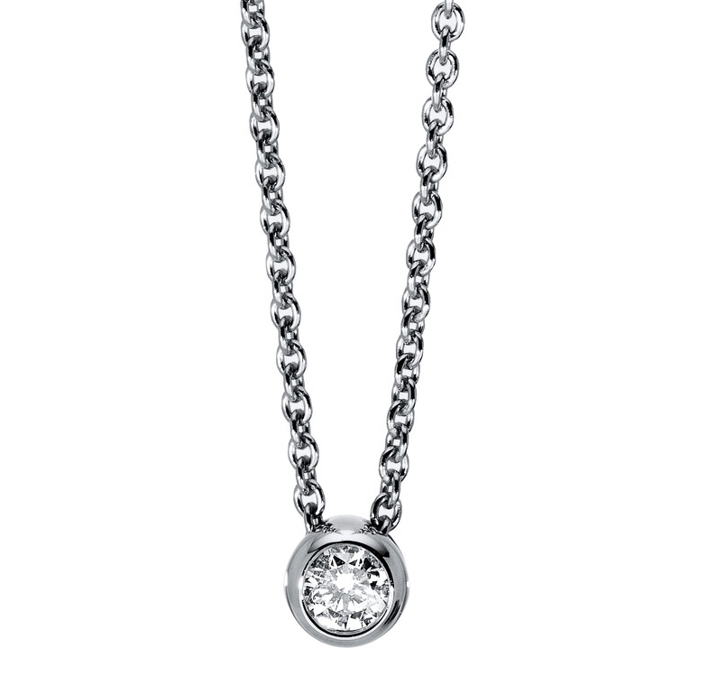 Necklace frame 14 ct white gold