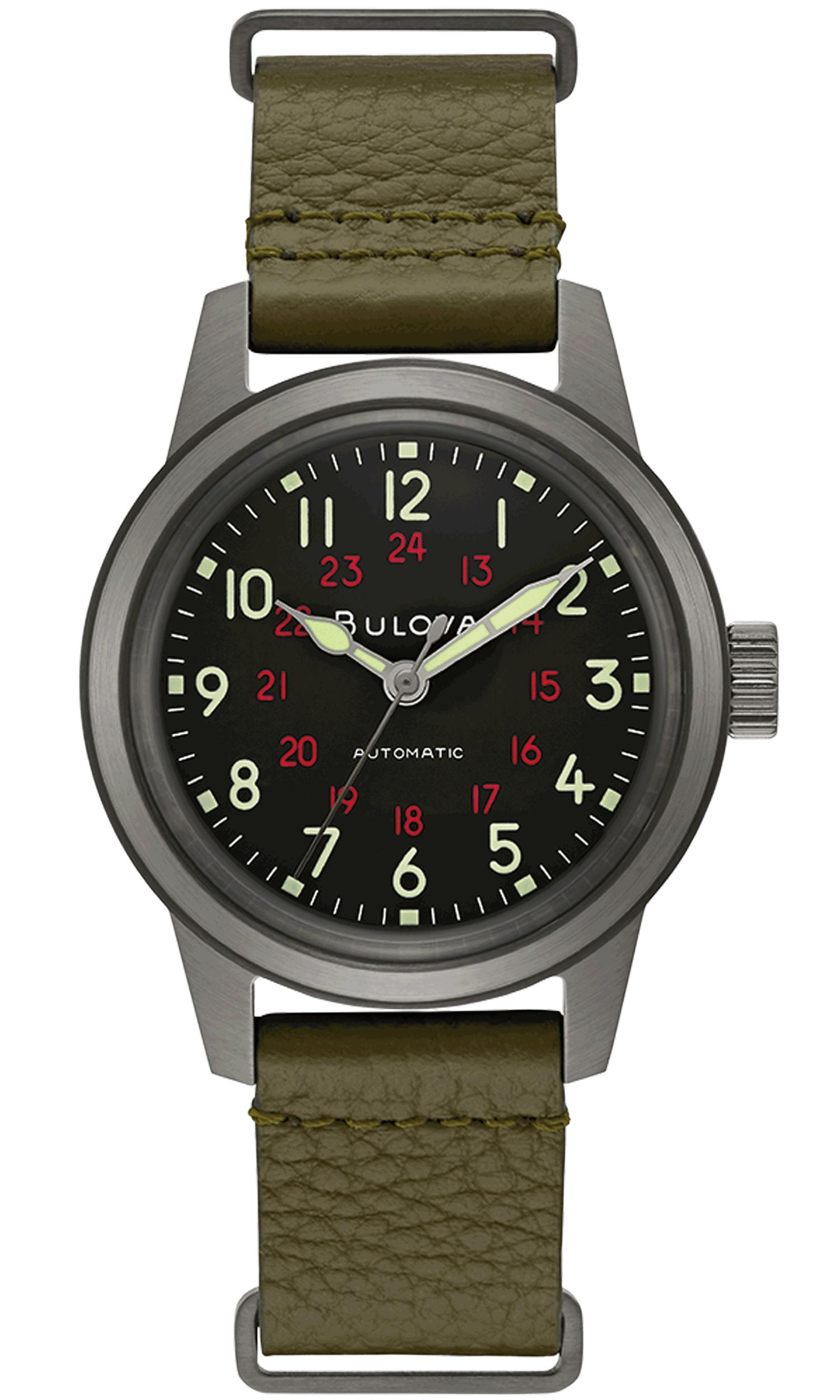 Bulova Classic Military