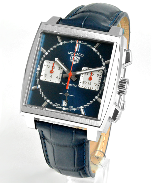 TAG Heuer Monaco Cal. Heuer 02 Chronograph - 23,4% saved!*