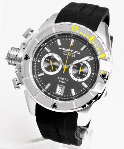 Hartig Racer Yellow quarz chronograph
