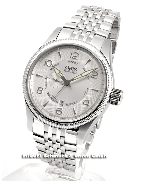 Oris Big Crown Small Second - Pointer Day - 19,6% saved ! *