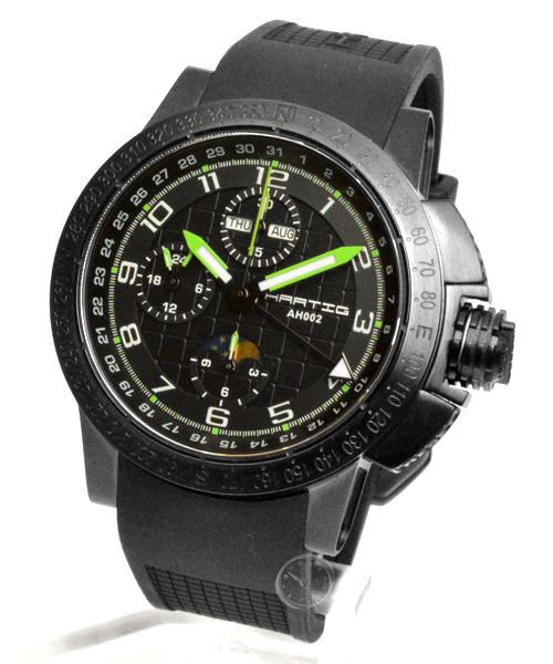 Hartig Racer Green automatic chronograph