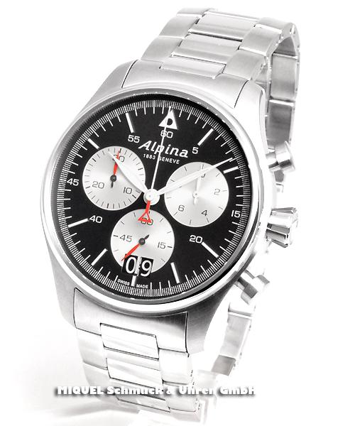 Alpina Startimer Pilot Chronograph - 44,7 % saved ! *