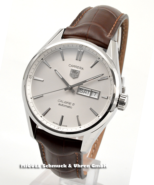 TAG Heuer Carrera calibre 5 Day Date  21,6% saved !*