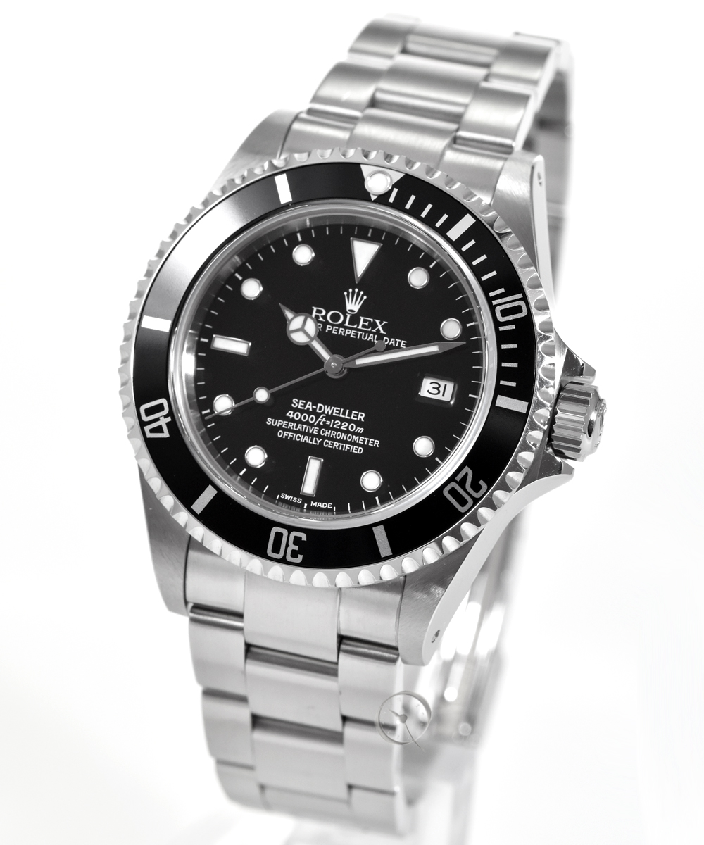 Rolex Oyster Perpetual Date Sea Dweller Ref. 16600 -LC100- unpolished -Full Set- from first hand!