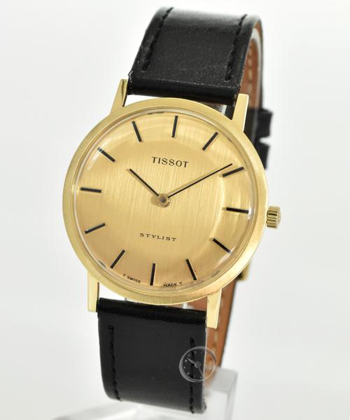 Tissot Stylist Handwinding 18ct Gold